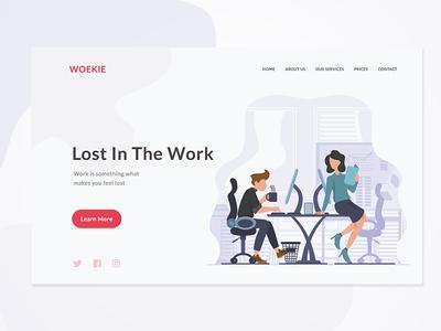 Workie Website User Interface Design