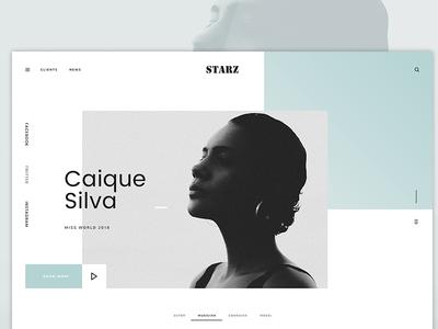 Starz Website User Interface Design