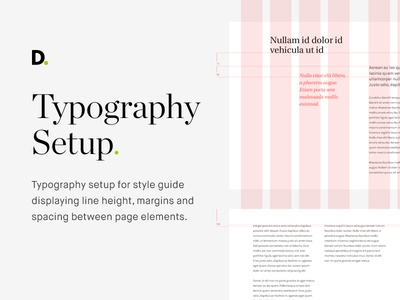 Typography setup grid grids style guide styleguide typography setting font typography