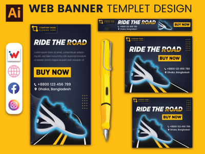 Product Banner template design