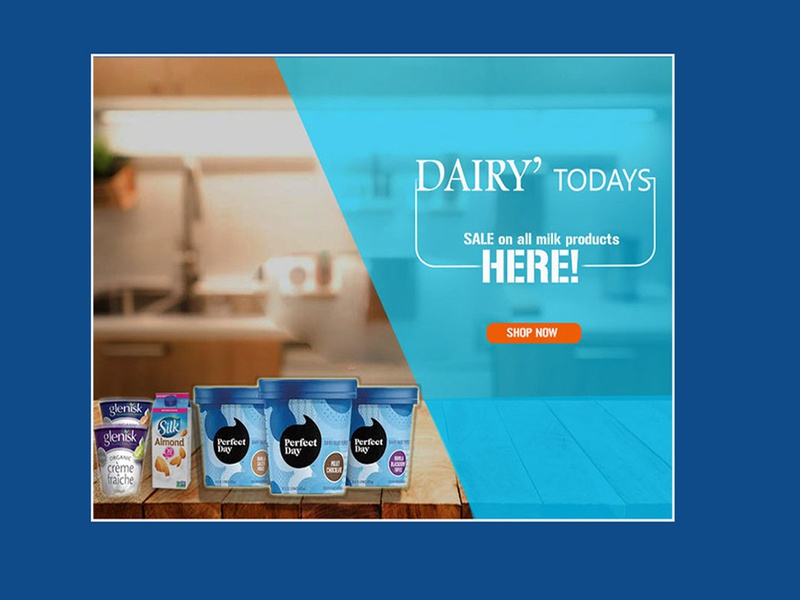 Dairy products simple page
