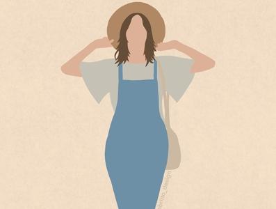 Summery procreate illustration