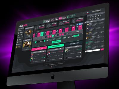 CS:GO gambling site design roulette gambling csgo ux ui webdesign