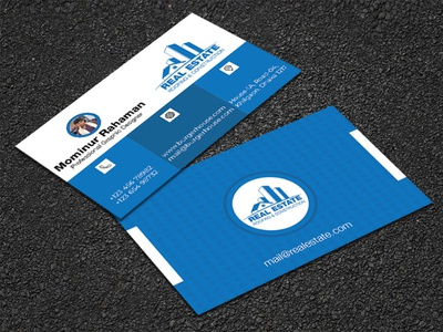 Real Estate Business Card Design atm card design invite card design graphicdesign business card template business card mockup business cards business card business business card design template business card design