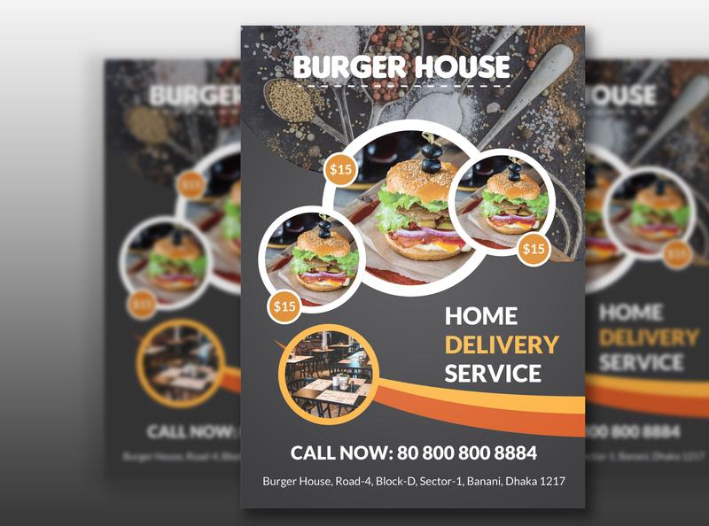 Resturant or Fast food Flyer design food menu fast food menu flyer designer fast food flyer resturant flyer flyer artwork flyers flyer template flyer design flyer