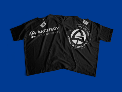 Gera Company. Traditional archery. T-shirt branding. identity branding berezhnytskyi wind desing t-shirt design wear cloth branded cloghing arrow logo archery bows winddesignua ukraine wind logo design branding design