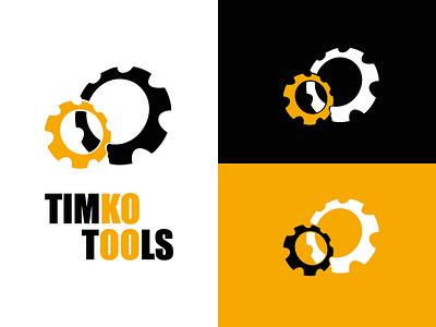 Timko tools. Logo clear design simple ua uk usa gear store hardware tools icon design icon branding logo wind winddesignua logo design ukraine