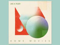 Like A Tiger Album Art Concept