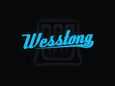 Wesstong Logo flat blue logo dark