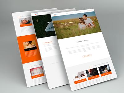 Website design company interface design
