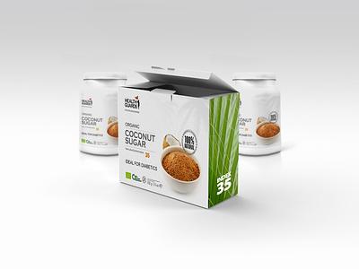 Health Guards Coconut Sugar food packaging