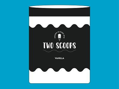 Vanilla Ice Cream Package Design design package design vanilla ice cream dribbbleweeklywarmup