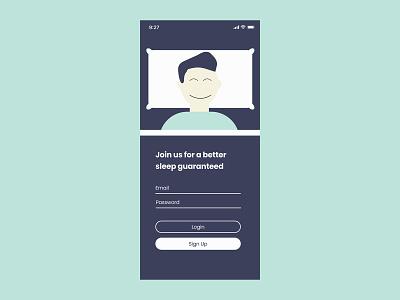 Daily UI Sign up 100days adobe illustrator design dailyui