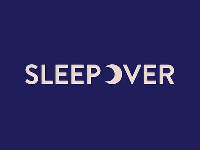 sleepover logo branding logo design