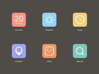 Flat icon 2x
