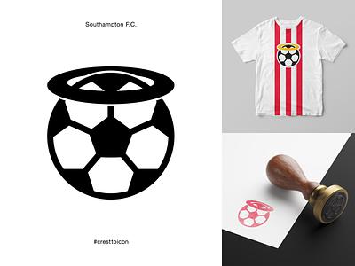 SOUTHAMPTON F.C. identity branding logo icon crest badge soccer football premier league cresttoicon southampton