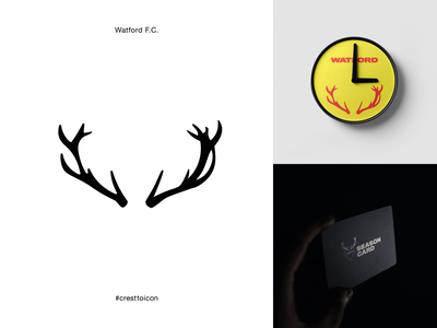 WATFORD F.C. watford identity branding logo icon crest badge soccer football premier league cresttoicon