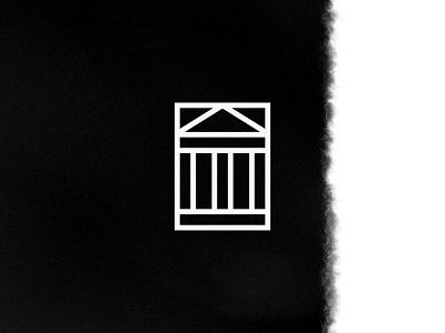 DUST PALACE icon identity design temple palace minimal identity symbol marque mark icon logo branding