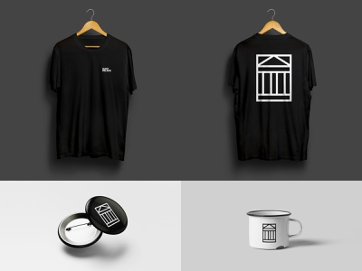 DUST PALACE merch branding t-shirt merch identity design logo icon