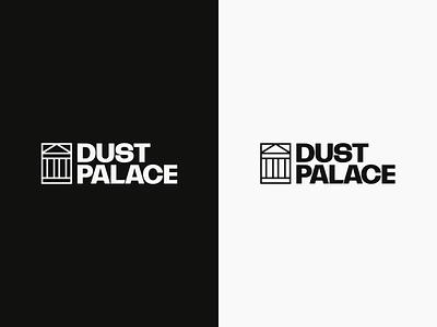 Dust Palace logo typography minimal identity combination mark logo branding