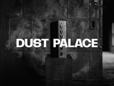 Dust Palace wordmark minimal identity wordmark logotype logo branding