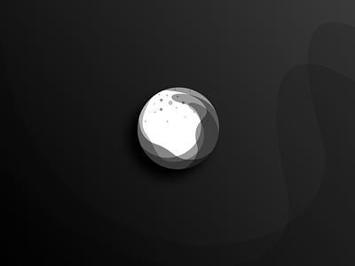 Hydrolin Logo / Logo Collection No.1 brand identity branding greyscale circle glass globe ball splash water logo