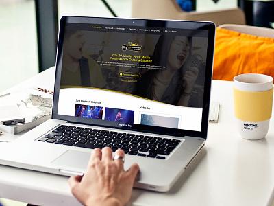 fizy High School Music Contest high school contest ux web laptop desktop ui music fizy