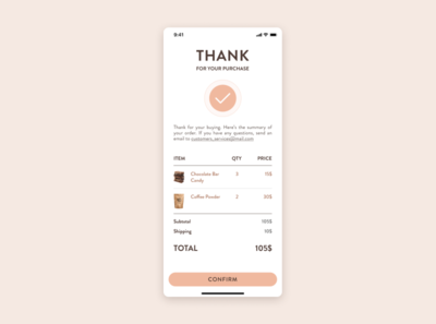 DailyUI #17 app ui design