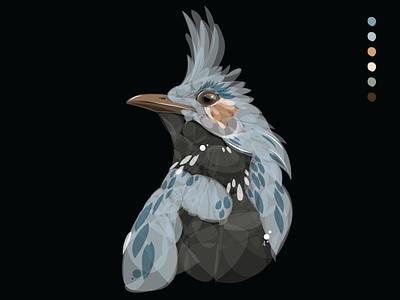 For the birds: Day 03 bird illustration