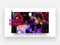 Elements Site Experiment