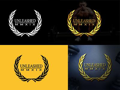 UNLEASDED MMXIX (Logo Design) motion graphics graphic design illustration branding design program workout gym fitness vector logo