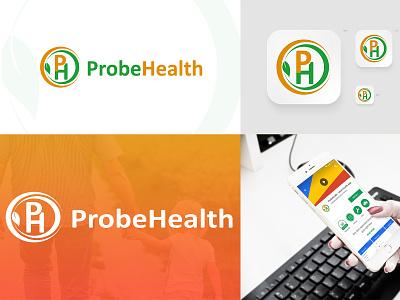 PROBE HEALTH (LOGO & ICON DESIGN) modern vector health illustration graphic design design logo icon branding