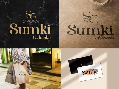 SUMKI GULICHKA (LOGO DESIGN) shop sumki shopping graphic design vector illustration design branding logo