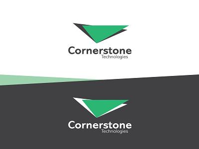 CORNERSTONE TECHNOLOGIES (LOGO DESIGN) graphic design vector design branding logo