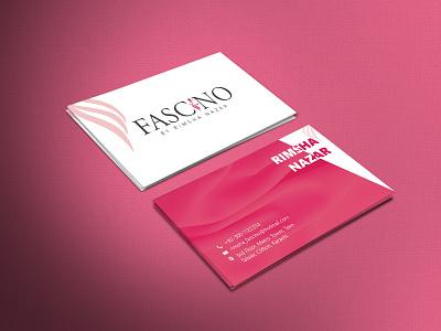 FASCINO (Business Card Design) fashion graphic design design branding