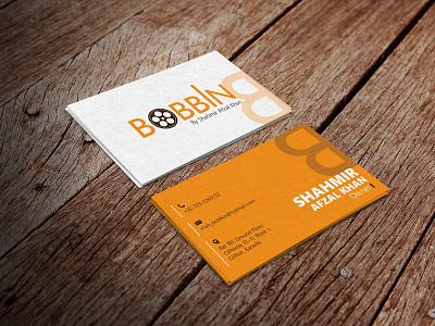 Bobbin (Business Card Design) stationary business card bobbin fashion vector graphic design design branding