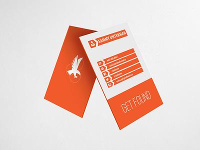 GET FOUND (BUSINESS CARD DESIGN) stationary getfound businesscard graphic design design branding