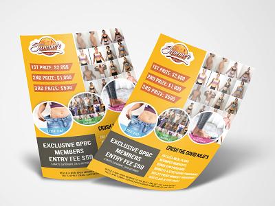 SUMMER BLITZ (FLYER DESIGN) health gym poster fitness photoshop graphic design design flyer
