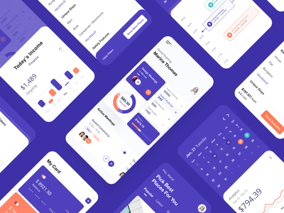 Hello Dribbble! user experience user interface pricing filter earning profile calendar booking app product design branding ux ui mobile ui analytics dashboard debut shot debutshot debut