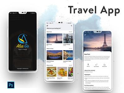 Travel APp mobile application food city hotel travel mobile mobile design iphone app ios app mobile app travel app