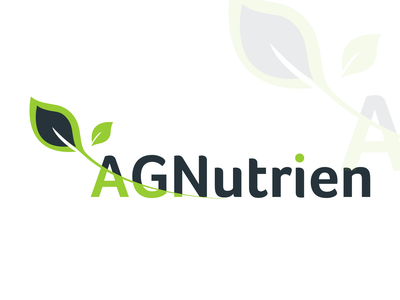 Nutrien Logo Design logo design concept logo designer nutrien logo nutrien logo nature logo logo design branding ui illustrator logo illustration creative