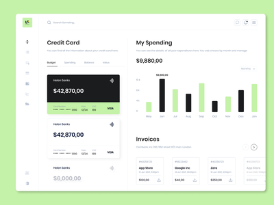 Banking Dashboard Design uiuxguruji ux design ui design banking card credit card dashboard design dashboard web