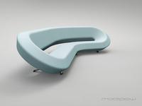 Modipow lab couch colour: light aqua