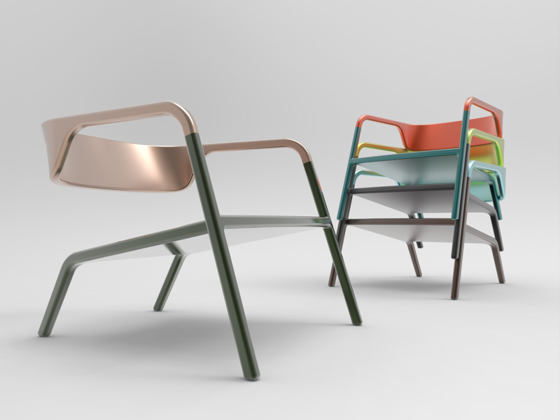 Lazy Royal lounge chair concept design industrial design product design furniture design lounge chair chair