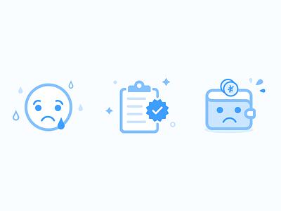 Result Icon error successed ok failure default icon order wallet sad