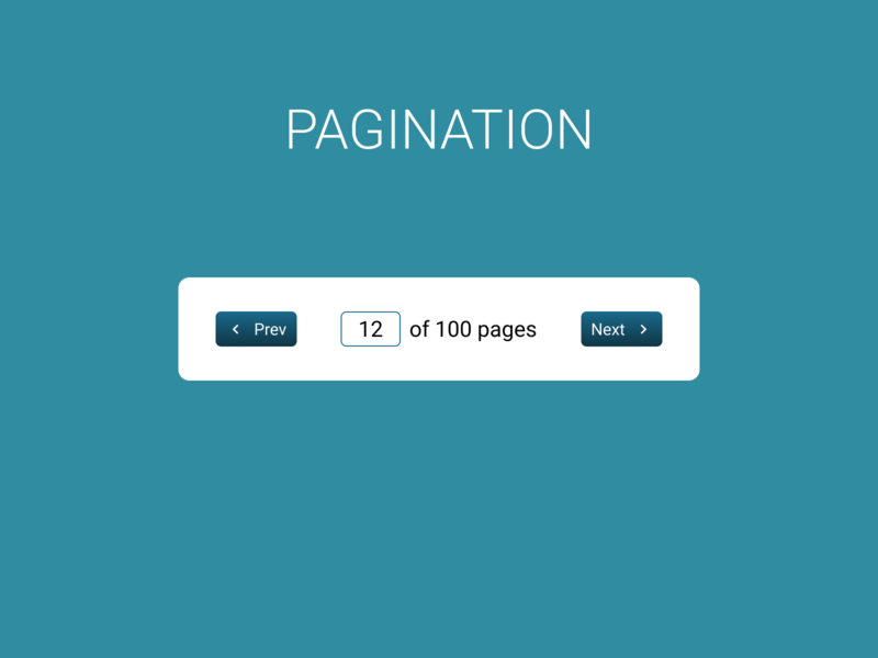 Pagination mobile dailyui 085 web design ux ui figma dailyui pagination