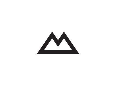 Berg Mark logo icon letter berg m mountain