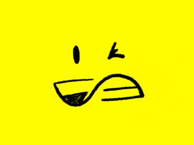 F & A design smiley illustration sketch ux