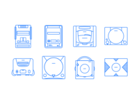 Legacy Consoles iconset