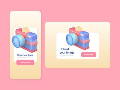 Pop-Up page - daily UI uiux page dailyui pop up portrait mobile graphic design design branding app